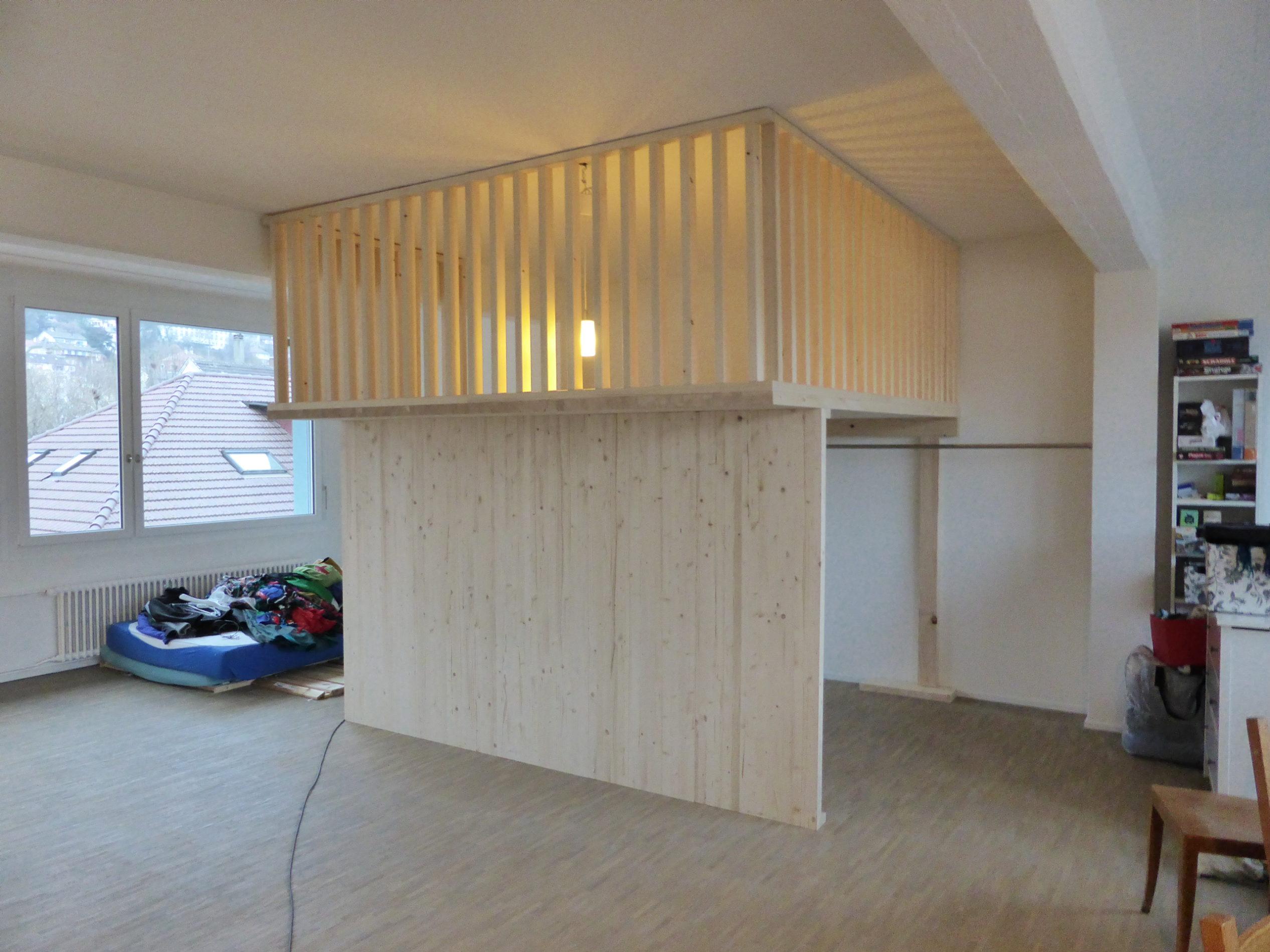 Chambre mezzanine dans un loft – Des idées plein la tête ...