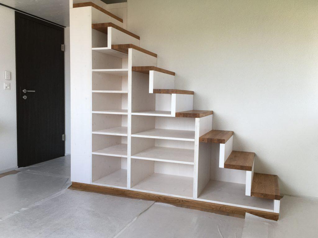 Escalier d'accés